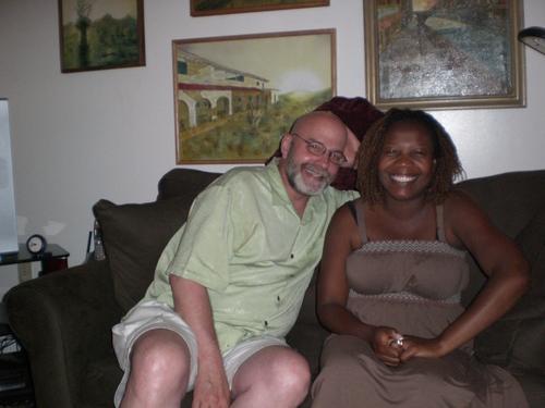 Gary Walker and Lena (sharful's wife)