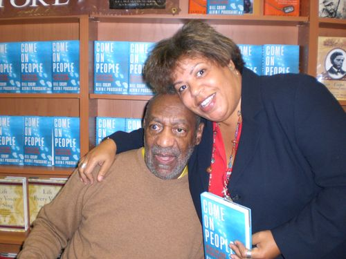 Bill Cosby booksinging at Hue-Man bookstore
