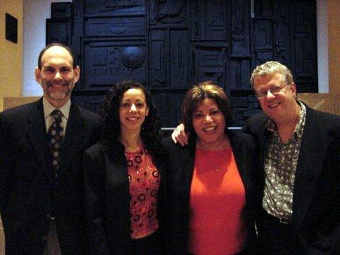 Ward Mintz, Luciana Souza, me, Romero Lubambo